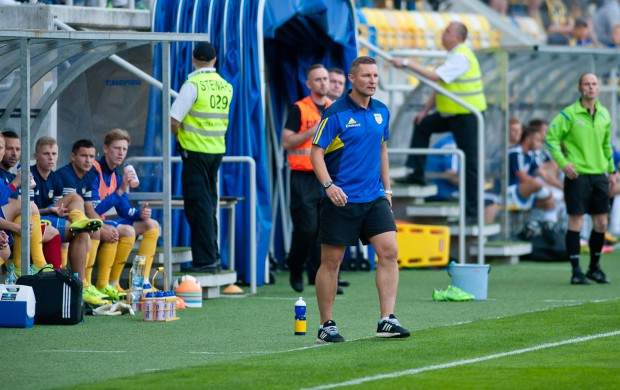 Podczas ostatniego meczu z Wigrami, w sierpniu ubiegłego roku w Gdyni trener Grzegorz Niciński poniósł z Arką porażkę 0:2.