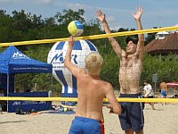 Na plaży w Brzeźnie w wakacje odbędzie się jeszcze osiem turniejów siatkówki plażowej. Najbliższy już we wtorek.