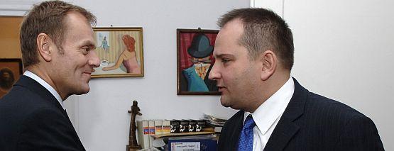 Tomasz Arabski został szefem kancelarii nowego premiera.