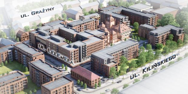 Browar Gdański powstaje jako przemieszana zabudowa mieszkaniowo-usługowa. Część budynków powstaje od podstaw, część jest poddawana renowacji.