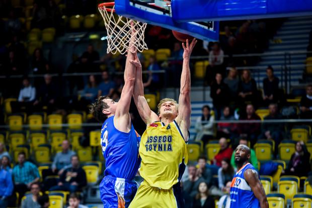 Filip Matczak zagrał w środę jak prawdziwy lider Asseco. Nie może więc dziwić, że został najskuteczniejszym koszykarzem meczu.