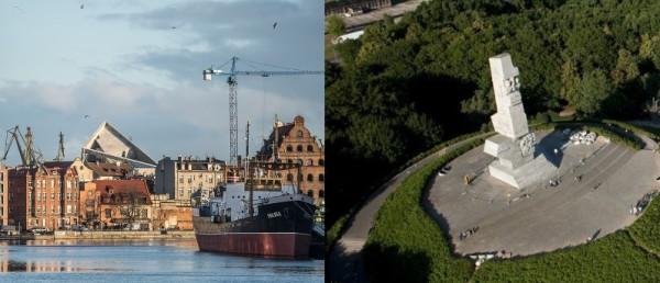 Budowa Muzeum II Wojny Światowej jest na ostatniej prostej. Dopiero ruszyć ma za to budowa Muzeum Westerplatte.