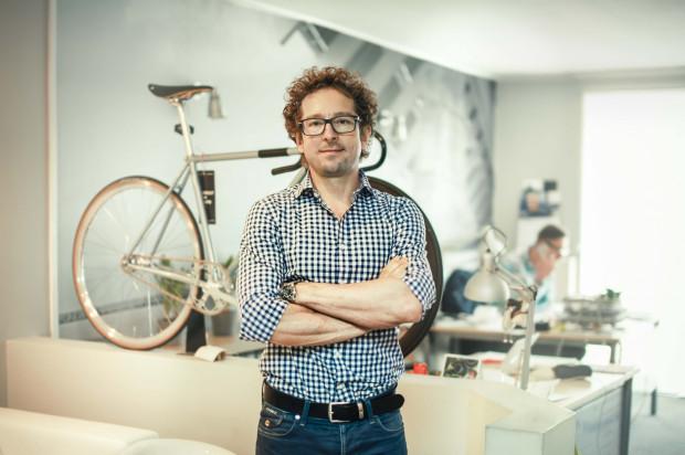 Szymon Kobyliński - właściciel Creme Cycles