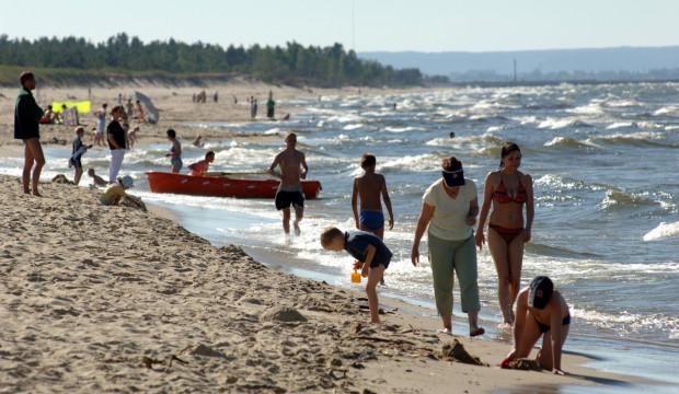 Plaże w Sobieszewie są równie atrakcyjne, jak te na Stogach czy w Brzeźnie.
