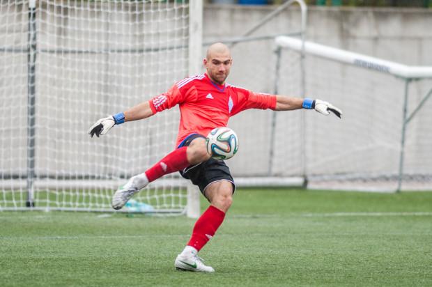 Marcin Matysiak od trzech spotkań w III lidze nie dał się pokonać rywalom. W piątek chciałby zachować czyste konto i pomóc wygrać Bałtykowi derbowy mecz z rezerwami Arki.