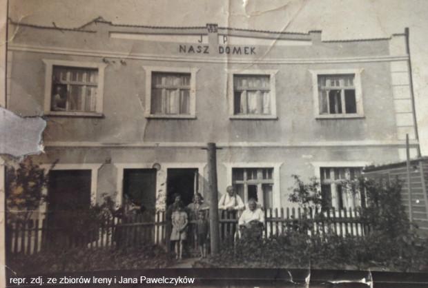 Dom przy ul. Chylońskiej, który wybudował listonosz Pawelczyk.