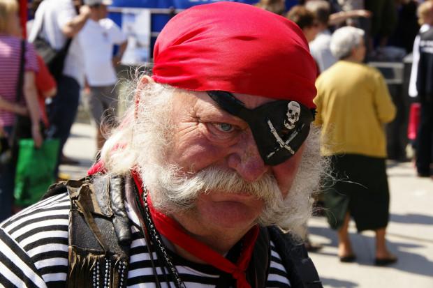 Zmarły w 2010 roku Andrzej Sulewski był gdańskim piratem przez ponad 20 lat.