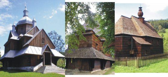 Piękne drewniane kościoły w Bieszczadach