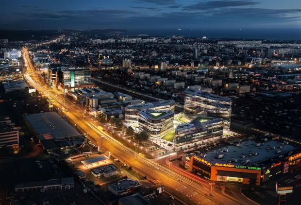 Koncepcja przewiduje, że na terenie między al. Grunwaldzką a torami kolejowymi mogłyby powstać   cztery budynki o powierzchni ok. 40 tys. m kw. połączone ze sobą w części parterowej.