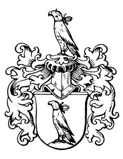 Herb rodowy Johannesa Daniela Falka