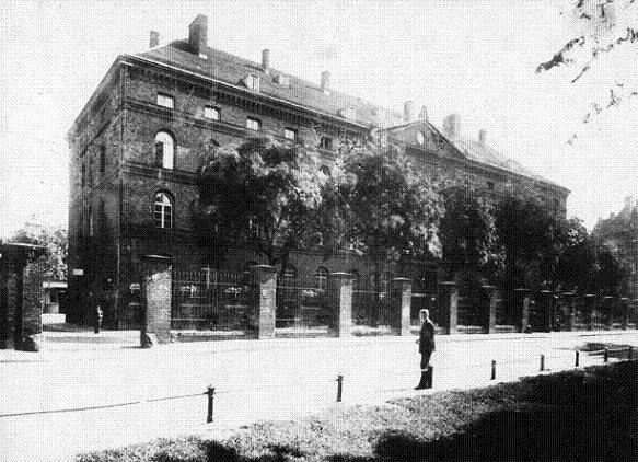 Tak bardzo znienawidzony przez Niemców budynek Poczty Polskiej w Gdańsku.