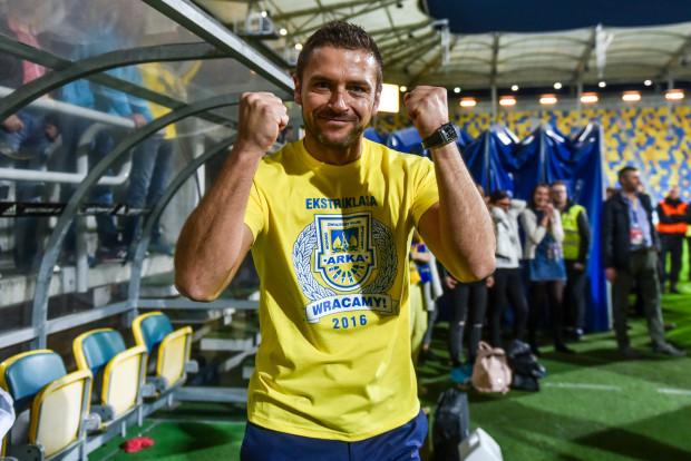 Arka wywalczyła awans do ekstraklasy rok wcześniej niż zakładał plan. Prezes Wojciech Pertkiewicz zapewnia, że klub i na takie rozwiązanie był przygotowany.