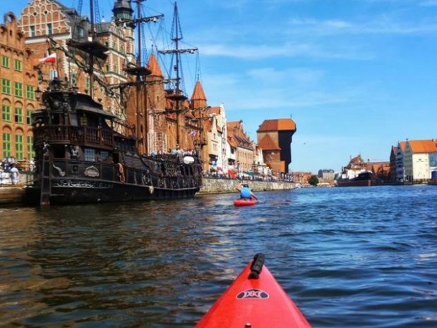 Wodna Fiesta to nowa impreza, podczas której raz w roku będzie można skorzystać z darmo ze sprzętu wodnego w Gdańsku i nie tylko.
