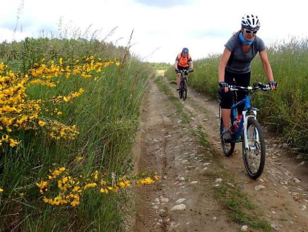 Bieszkowickie jeziora i mokradła to fantastyczne miejsca na wypady turystyczne, nie tylko na rowerze.
