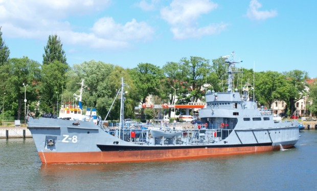 Z-8 może transportować dla okrętów prawie 650 ton oleju napędowego i ponad 21 ton oleju smarnego. Zbiornikowiec paliwowy Supply, który go zastąpi, ma mieć ponad dwukrotnie większe możliwości.