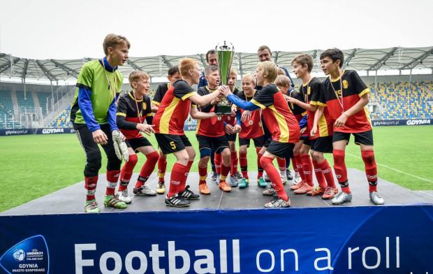 Piłkarze SI Arka w barwach reprezentacji Belgii wygrali gdyńskie Euro 2016, w którym wystąpiły drużyny do lat 12.