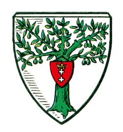 Herb gminy wiejskiej Oliwa.