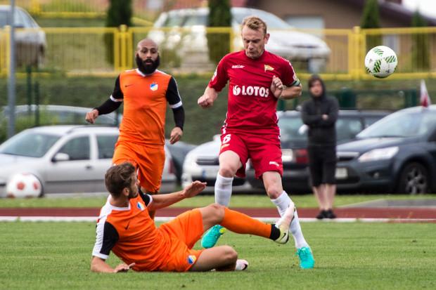 Sebastian Mila zapewnił Lechii zwycięstwo w sparingu nad Apoelem Nikozja.