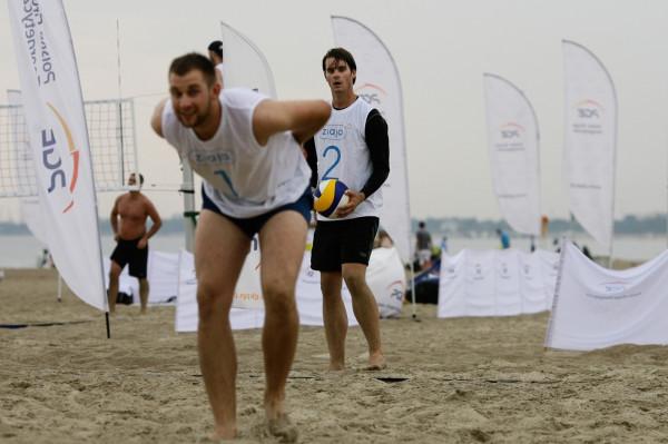 Turnieje siatkówki w Sopocie odbywać się będą na plaży przy wejściu nr 23.