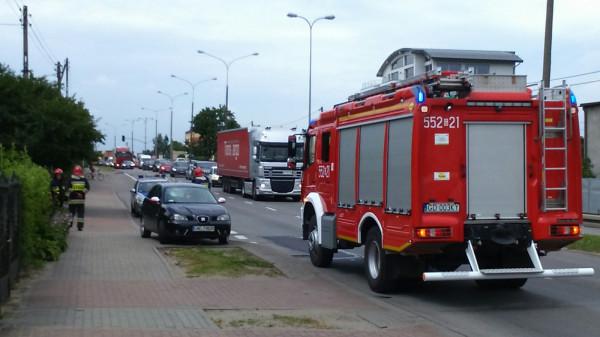 By helikopter mógł wylądować, potrzebna była pomoc strażaków.
