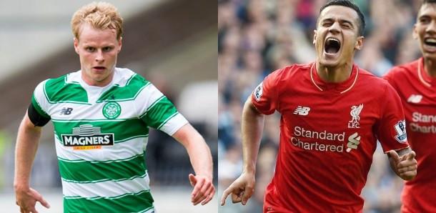New Balance ubiera m.in. piłkarzy Liverpoolu (z prawej) i Celtiku Glasgow, który ma takie same barwy jak Lechia.