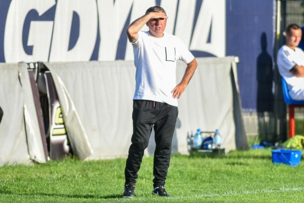 Gheorghe Hagi na próżno wypatrywał sukcesu w Gdyni 4. drużyny minionego sezonu Rumunii.