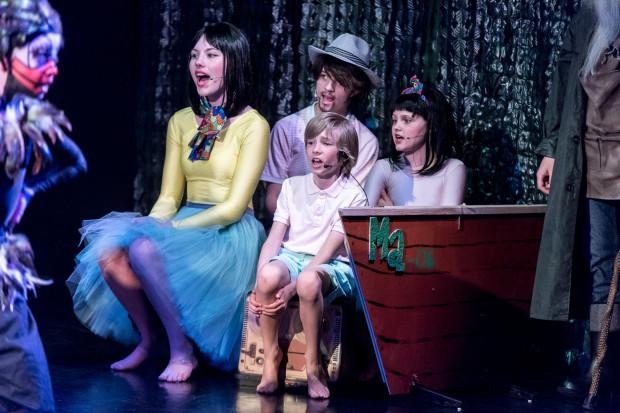 """""""Ryba w koronie"""" Sopockiego Teatru Muzycznego Baabus Musicalis, przygotowującego spektakle z udziałem kilkuletnich dzieci, zainauguruje tegoroczną działalność Kulturalnej Plaży w Sopocie."""