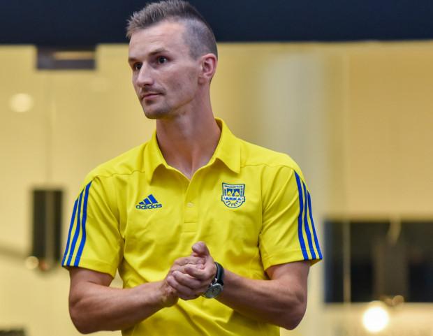 Miroslav Bożok wyprowadził piłkarzy Arki jako kapitan na ostatni sparing przed inauguracją ekstraklasy i zdobył prowadzenie w grze z II-ligowym Gryfem Wejherowo.