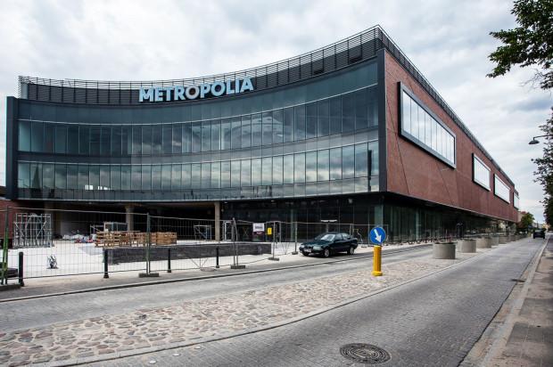 Budowa Galerii Metropolia spowodowała konieczność przebudowy ul. Kilińskiego.