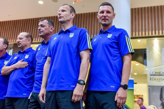 Od prawej: Grzegorz Niciński, Grzegorz Witt, Jarosław Krupski, Marek Gaduła