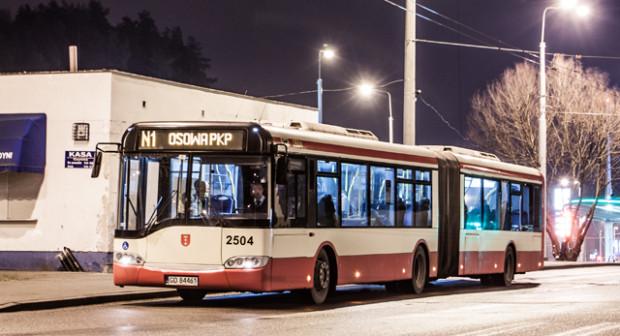 Autobusy linii N1 na wybranych kursach przejeżdżają przez Sopot i Gdynię, co w efekcie sprawia, że obowiązują w nich dwa cenniki gdańskich biletów oraz bilety emitowane przez Gdynię.