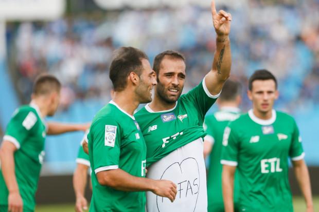 Marco (z lewej) i Flavio Paixao (z prawej) w ekstraklasie zdobyli łącznie 58 goli z czego 43 występując w jednym klubie. 7 z nich ustrzelili w barwach Lechii, ale jak zapewnia Flavio, ta statystyka wzrośnie.