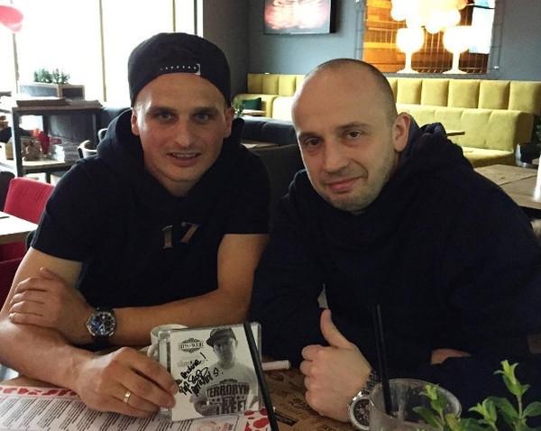 Sławomir Peszko od lat jest fanem poznańskiego rapera Peji. Dziś są dobrymi kolegami.