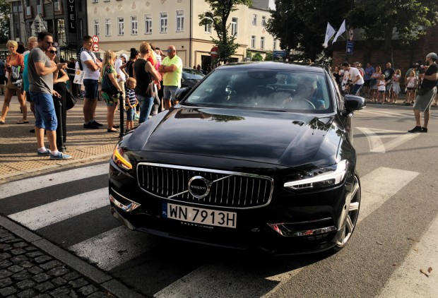 Najnowsze Volvo S90 podczas Energa Sopot Match Race.