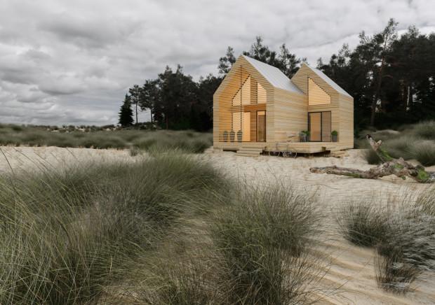Lighthouse - dom modułowy. Projekt Marek + Sikora Architektura.