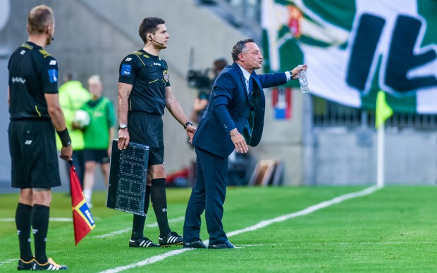 Piotr Nowak jest zadowolony z postawy drużyny., Jego zdaniem do poprawy jest głównie skuteczność.