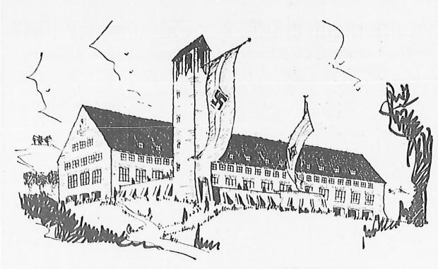 Projekt schroniska wybrany do realizacji na początku 1938 r. Ze zbiorów PAN Biblioteki Gdańskiej.