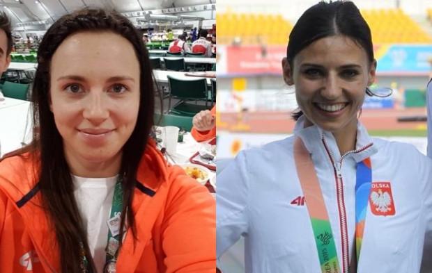 Daria Pogorzelec i Anna Kiełbasińska.