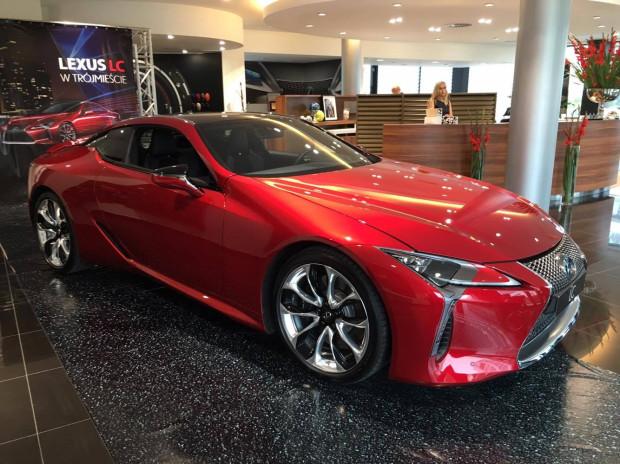Nowy Lexus LC 500 został zaprezentowany w salonie Lexus Trójmiasto.