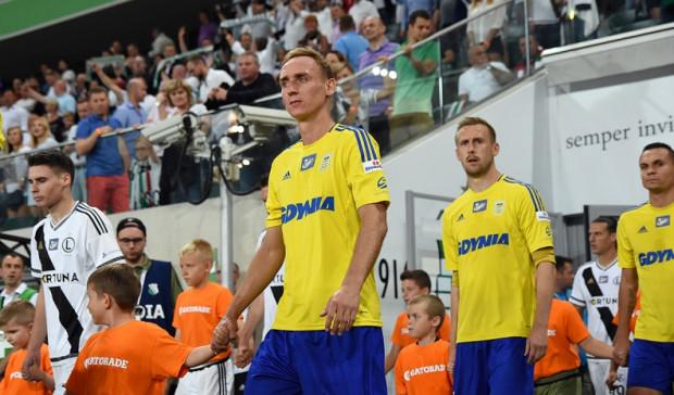 Piłkarze Arki już w meczu z Legią w Warszawie reklamowali na koszulkach Stena Line. W czwartek przewoźnika promowego oficjalnie przedstawiono jako sponsora klubu.