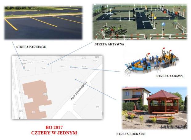 Trzy, a nawet cztery w jednym, we Wrzeszczu ma powstać strefa zabawy, edukacji, aktywna i parkingu.