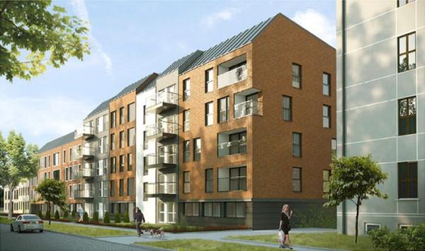 Mieszkania przy Kieturakisa na Dolnym Mieście budował będzie TBS Motława. Miasto pozyskało dofinansowanie na budowę z uruchomionego w ubiegłym roku programu wspierania społecznego budownictwa czynszowego.