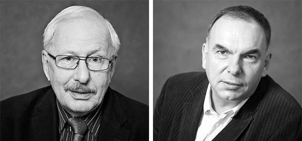 Duet dyrektorski Wojciech Zieliński (dyrektor, po lewej) i Krzysztof Babicki (dyrektor artystyczny)  sprawuje władzę w Teatrze Miejskim w Gdyni od 2011 roku.