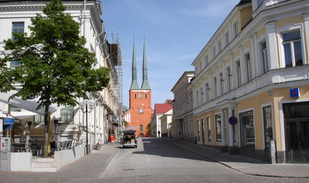 Centrum miasta - Vaxjo.