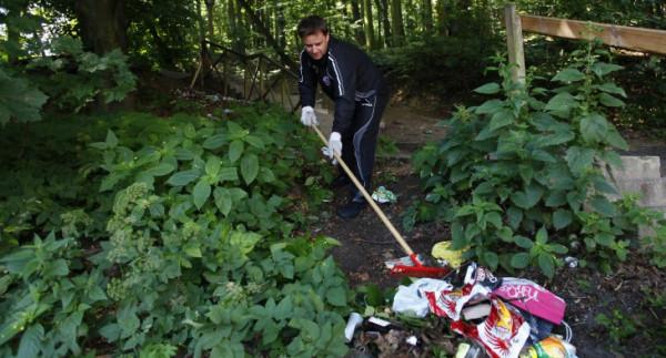 Szczególnie w lasach odpadów do usunięcia nie powinno zabraknąć.