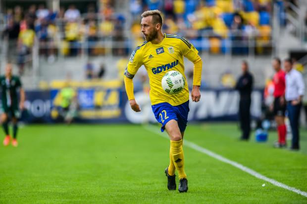 Dariusz Zjawiński na trzeciego gola dla Arki czeka od pięciu spotkań. Czy przełamie się w meczu przeciwko swojej byłej drużynie?