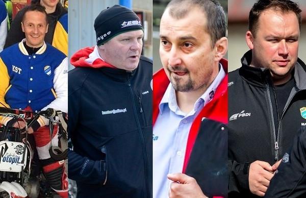 Od lewej: Robert Kościecha, Piotr Żyto, Rafał Dobrucki, Sławomir Kryjom. Którego z nich wybrać? Zagłosuj.