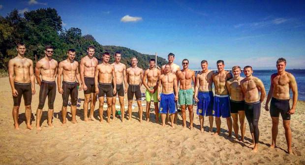 To nie są zawodnicy przygotowujący się do zawodów kulturystycznych typu Arnold Classic. Tak prezentuje się zespół Asseco Gdynia.