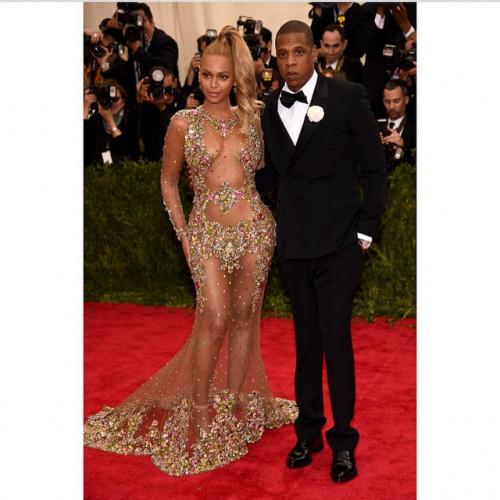 Beyonce na gali MET w sukience Givenchy