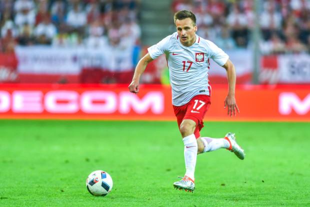 Sławomir Peszko w seniorskiej reprezentacji Polski wystąpił po raz 41., w tym 9. raz jako piłkarz Lechii Gdańsk.